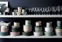 Crate and Barrel'ın pastel serisi, Hue