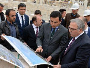 TOKİ Başkanı Turan, Kırşehir'de teftiş yaptı