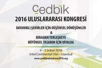 Dünyanın gözü kulağı ÇEDBİK 2016 İstanbul Kongresi'nde