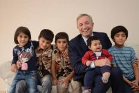 Hamdi Akın, 6 evini Suriyeli mültecilere tahsis etti