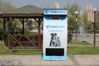 Ege Yapı'dan sokak hayvanları için çevreci mama otomatları