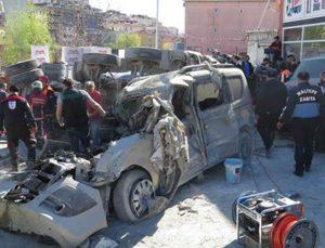 Ataşehir'de devrilen beton mikseri faciaya neden oldu
