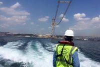 Çanakkale Köprüsü'nün ilk adımını Dünya Harita attı