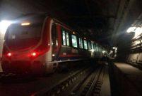 Marmaray raydan çıktı, seferler tek yönlü durduruldu