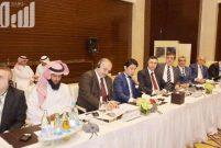 Suudi İmar Bakanı, Sinpaş ile görüştü