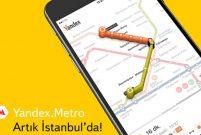 Metrobüs, metro ve raylı sistemlere Yandex.metro'dan binin
