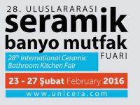 28. UNICERA fuarı 23 Şubat'ta kapılarını açıyor