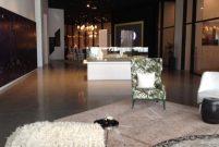 G YOO Inspired by Starck'ın satış ofisi de proje kadar iddialı