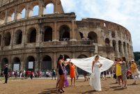 Benimle Roma'da evlenir misin?