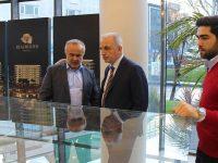 KİPTAŞ Genel Müdürü Yıldırım Real Merter'i ziyaret etti
