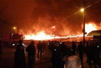 Keçiören'deki Osmanlı Halk Pazarı'nda 250 işyeri yandı