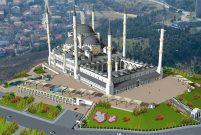 Emlak Konut GYO Çamlıca Camii'ne 12 milyon TL bağışladı