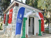 Bursa Büyükşehir Belediyesi Aydoğdu Bey Türbesi'ni restore etti