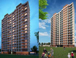 Arya Rezidans'ta en az 1000 TL kira geliri bekleniyor