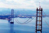Körfez geçiş köprüsünde ilk tabliye müjdesi