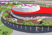 Dünyanın ikinci büyük kongre merkezi Antalya'da yapılıyor