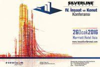 Silverline 4. İnşaat ve Konut Konferansı yarın açılıyor