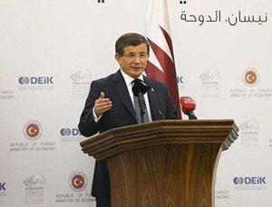 Davutoğlu'ndan müteahhitlere Katar müjdesi