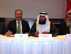 Türkiye'nin en büyük uluslararası GYF'si için imzalar atıldı