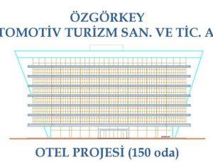 Özgörkey Oto İzmir'de 150 odalı otel yapacak