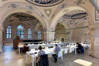 Beyazıt Devlet Kütüphanesi'nde Tabanlıoğlu restorasyonu