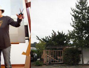 Amy Shock seyyar ev inşa etti