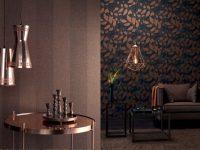 Rasch Textil'den yeni bir duvar kağıdı koleksiyonu: Indigo