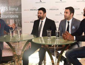 Pascal Nouma ve Kadir Çöpdemir Babacan Premium'un kampanyasını tanıttı