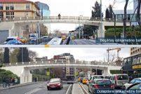 İBB, Gezi Parkı'na üst geçit yapıyor