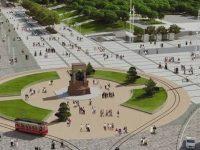 Taksim Meydanı'nda ikinci etap inşaatı bugün başlıyor