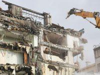 İSKİ Binası yıkıldı, yerine otopark ve meydan yapılacak