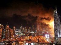 Dubai Address Hotel'de çıkan yangın 20 katı sardı