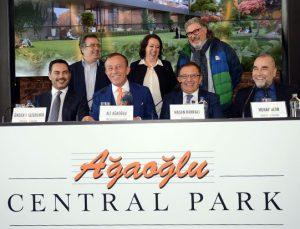 Ağaoğlu Central Park'ta metrekare fiyatı 6 bin 800 dolar
