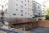 Maltepe'de çöken binaya, Belediye ziyareti