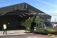 Öztiryakiler Weatherhaven için mobil hangar üretecek