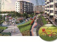 İlkbahar'ın tadını çıkarmak isteyenlere bisiklet Sur Yapı'dan
