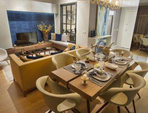 Adım İstanbul'un 2+1 konsept dairesini Dekor's tasarladı