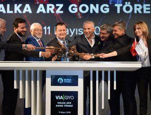 Via GYO, Borsa İstanbul'da işlem görmeye başladı
