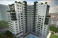 Kulvar Residence'ta 159 bin 300 TL'ye 1+1 daire