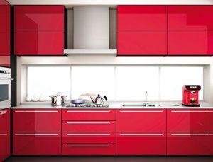 Glossmax ile ayna gibi parlayan mutfaklar