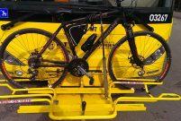 İETT Çevre Günü'nde bisiklet aparatlı otobüsleri seferber etti