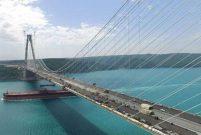 3. Boğaz Köprüsünde asfaltlama çalışmaları bitti
