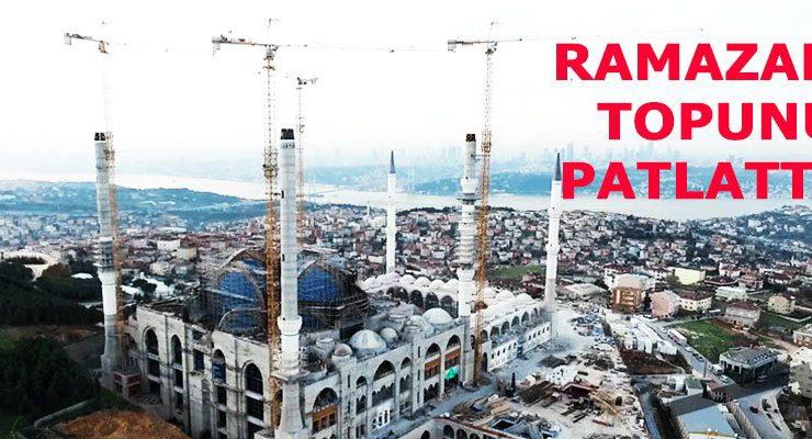 İBB, Akiş GYO'nun Çamlıca Camisi'ne komşu iki arsasını aldı