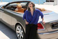 Rolls-Royce'un Dawn modeli Boğaz'da arz-ı endam etti