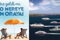 İDO, 20 Haziran'da yaz tarifesine geçerek tatili başlatıyor