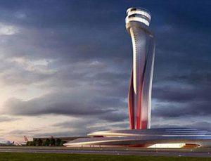 3. Havalimanı'nın lale figürlü kulesinin temeli atıldı