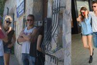 Serenay Sarıkaya ve Kerem Bürsin, Şahan'ın evine baktı