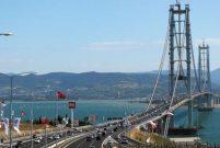 Osmangazi Köprüsü'nden 8 günde 760 bin araç geçti