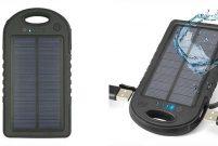 Solar Powerbank'la telefonunuzu yaz sıcağında şarj edin