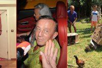 Ali Ağaoğlu piliç ve tavuklarını helikopterle adasına götürdü